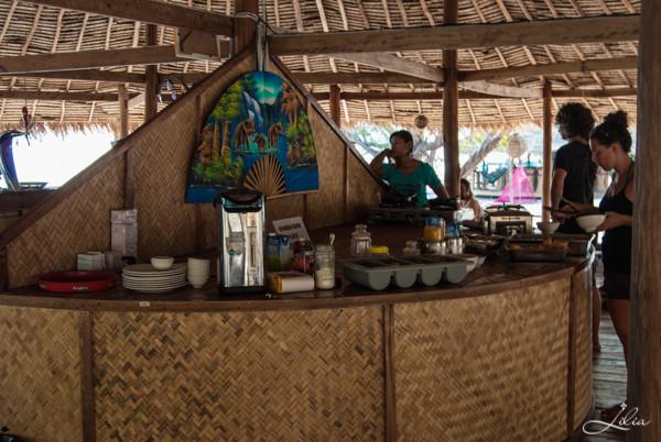 Koh Rong Samloem: The Beach Resort, шведский стол на завтрак
