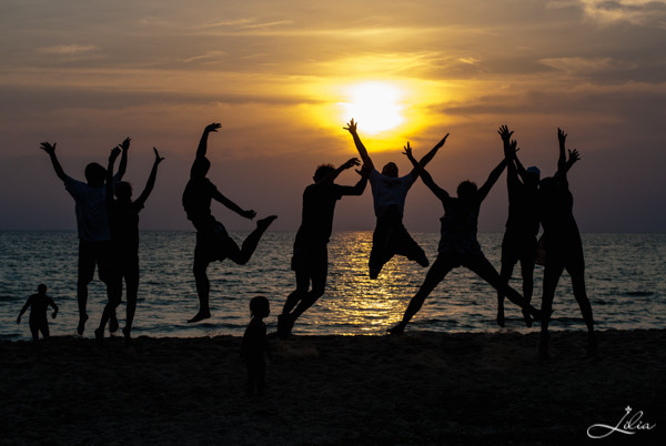 Koh Rong Samloem: Leazy Beach