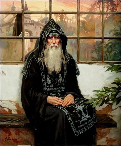 Кроткие советы и наставления старца Симеона Афонского.