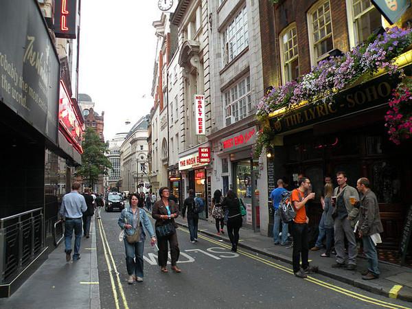 лондон сохо проститутки