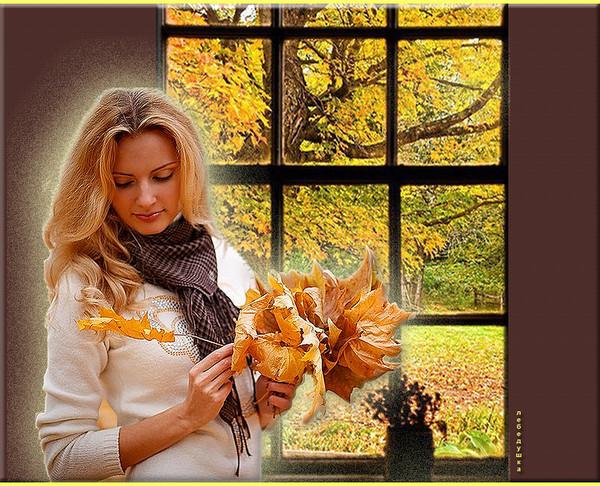 Экибану из осенних листьев картинки