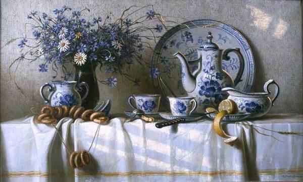 чай из синих роз фанфик
