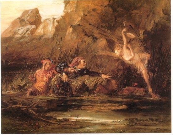 Ариэдь и Калибан
