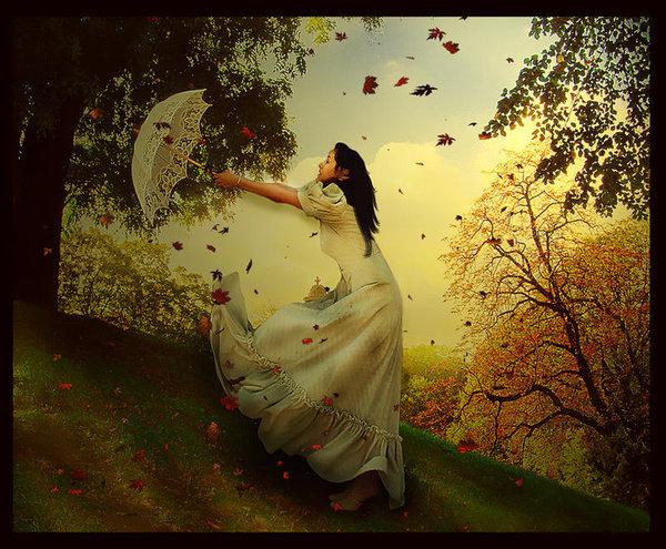 фея осень картинки