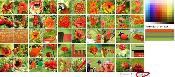 подборка картинок по цвету: