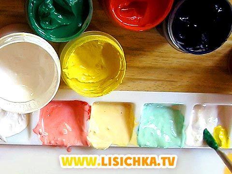 Как сделать белую краску без красок 222