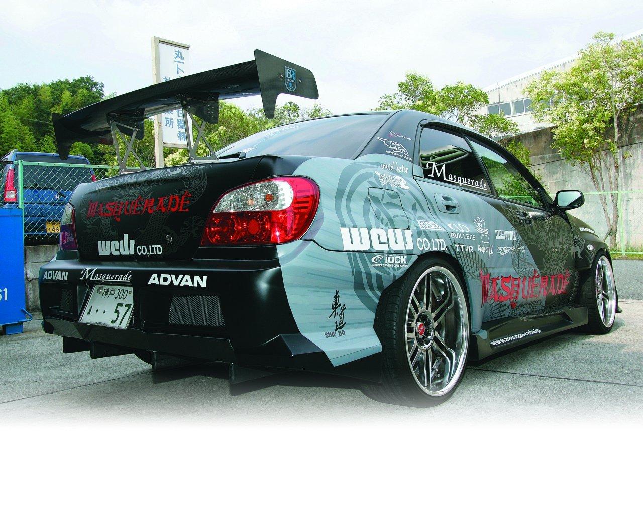 Subaru Impreza.  Tuning (46 фо…