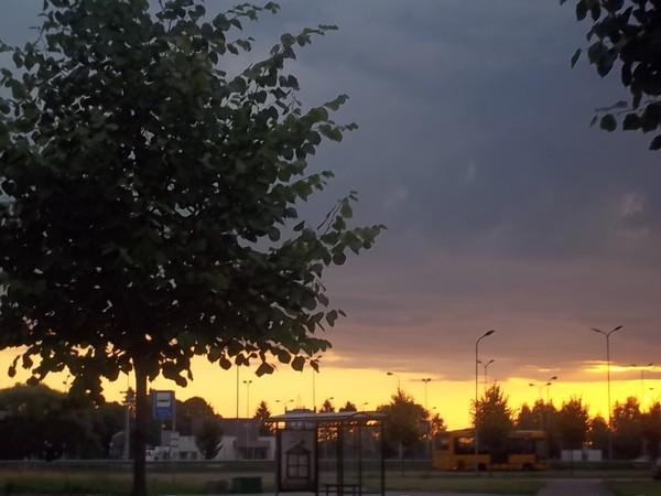 Рассвет в Риге