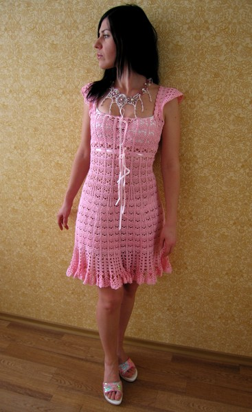 More Picture For вязание крючком вечерние платья.