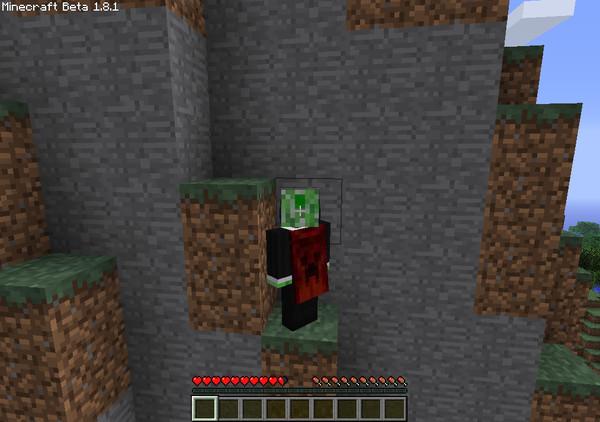 Плащ для minecraft выглядит примерно так