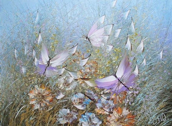 Бабочки дмитрия кустановича