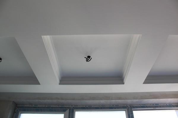 Многоуровневые подвесные потолки из гипсокартона в детсвкой комнате