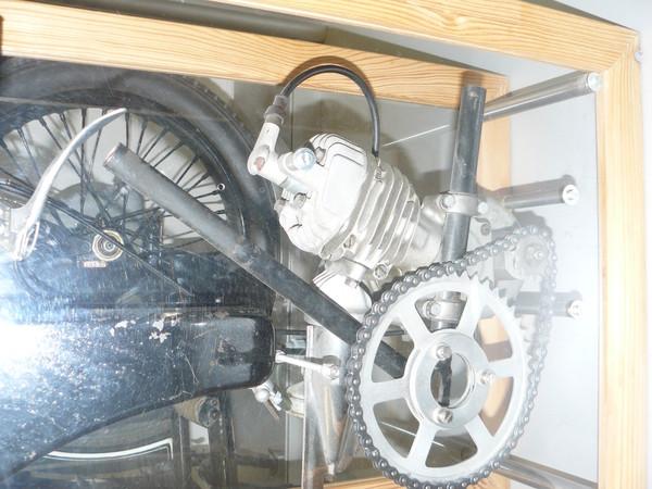 Двух колесные экспонаты тех.музеев Праги и Дрездена