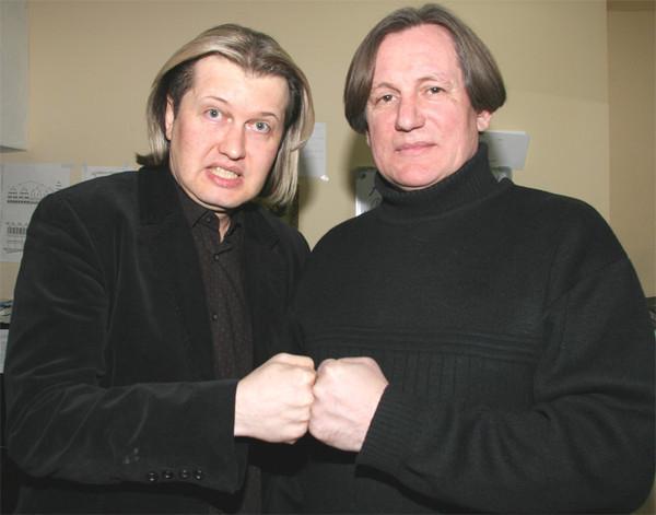 Сергей Челобанов и Сергей Грушевский