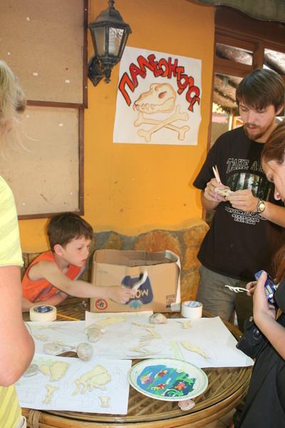 Обучающие игры и познавательные занятия с детьми - Палеонтология