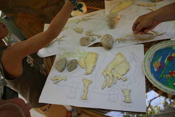Познавательные занятия, обучающие игры с детьми, палеонтология, динозавры