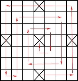 Чаукабара 5 домов 7*7 клеток(11 Kb)