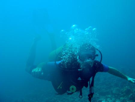 Ираклий Пирцхалава под водой дайвинг