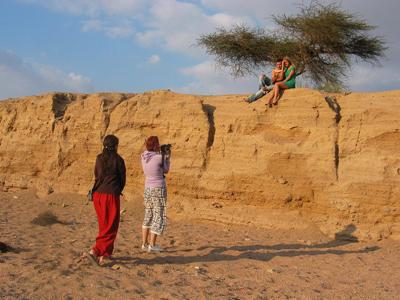 Съемки клипа Ираклия в Египте