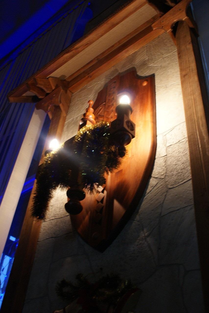 Рис.15 Светильник, стилизованный под старинный настенный подсвечник