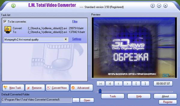Total Video Converter 3.51
