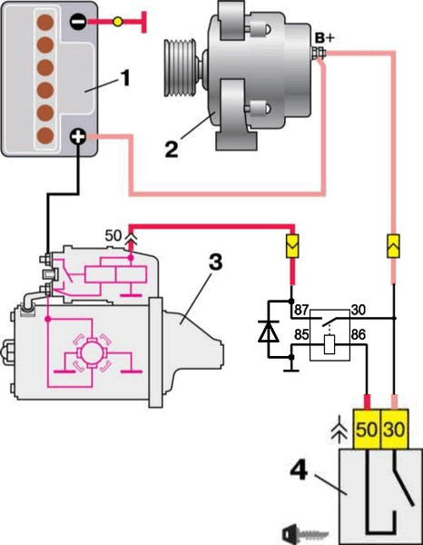 Реле генератора ваз 2110 где находиться