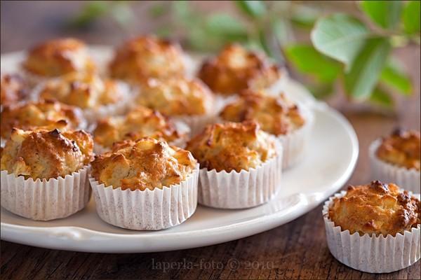 Творожно яблочный кекс рецепт