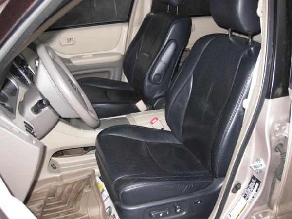 Toyota Kluger Club - Внедрение кресел от RX