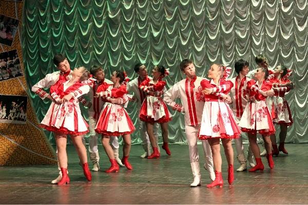 Сценарий концерт народный танец