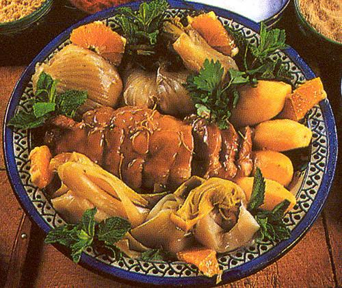 Тажин - самое популярное марокканское блюдо