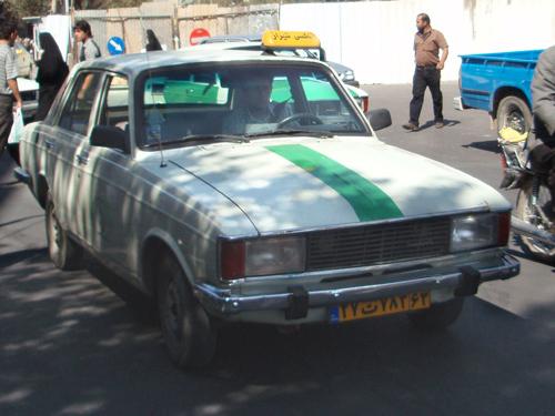 Не удивляйтесь - так в Иране выглядят обычные маршрутные такси