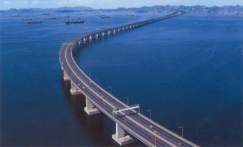 Мост Президента Коста-и-Сильва - самый длинный в Южной Америке