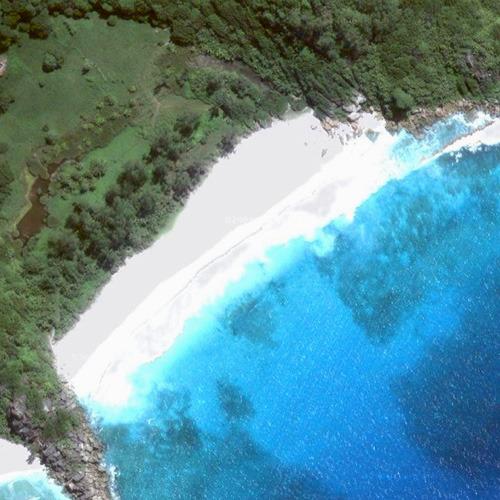 Вид на залив Пти из космоса