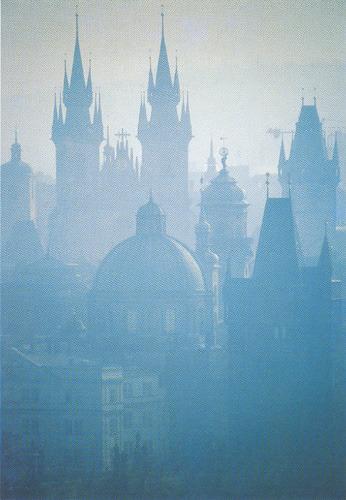 Старо Место (c открытки Милана Кинцла)