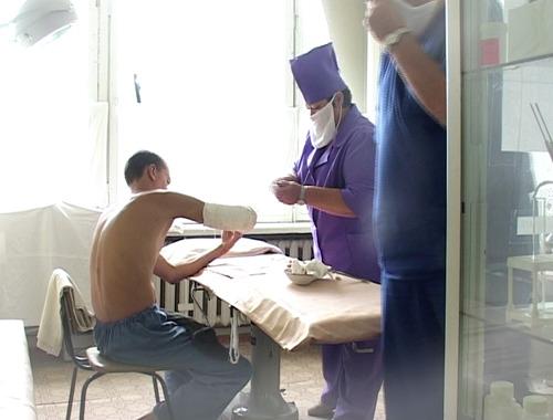Военный госпиталь войсковой части 3726 ВВ МВД РФ - первый на путях эвакуации раненых из Чечни