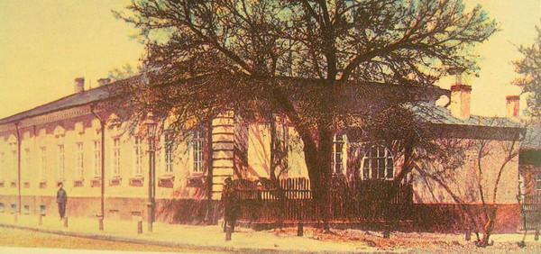 Особняк, где останавливался А. Пушкин и умер Александр I