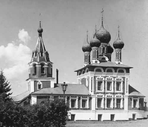 Церковь Дмитрия на крови (фото С. Прокудина-Горского начала ХХ века)