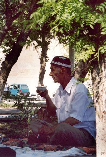 Из серии ''Узбекские портреты''. Бухара.