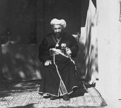 Из серии ''Узбекские портреты''. Самаркандский аксакал (фото начала ХХ века).
