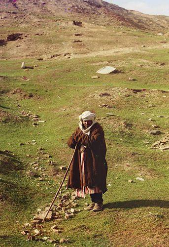 Из серии ''Узбекские портреты''. Чабан в окрестностях Самарканда (фото начала ХХ века).