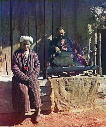 Из серии ''Узбекские портреты''. Шашлычник в Самарканде (фото начала ХХ века).