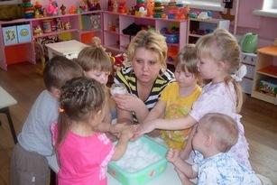 """Презентация """"Сенсорное развитие детей первой младшей группы в экспериментальной деятельности"""""""