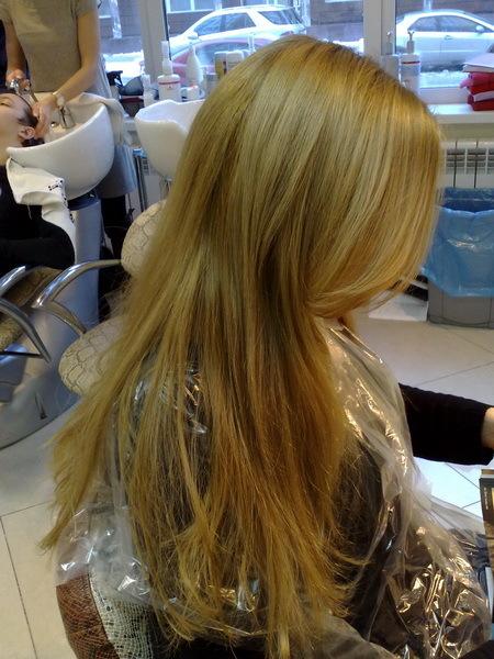 Чем закрасить мелированные волосы - 13d67