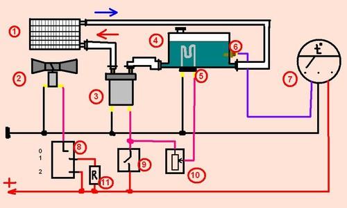 Радиатор отопителя (от 2106)