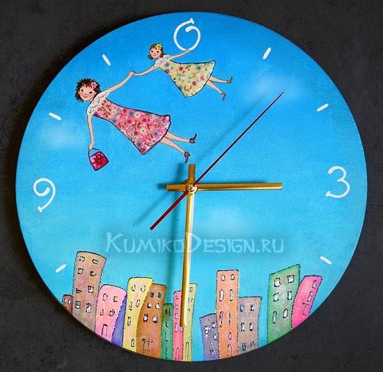 Часы своими руками идеи для детей 58