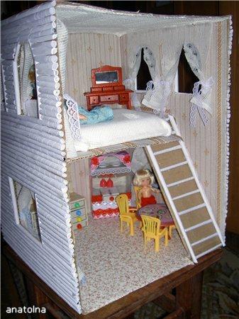 Мой домик для кукол сделан своими руками