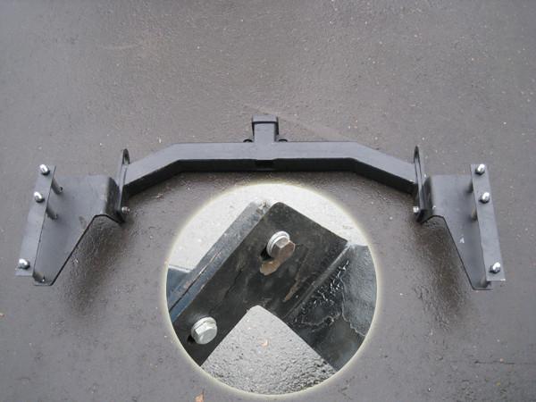 Фаркоп на кайрон 2 своими руками