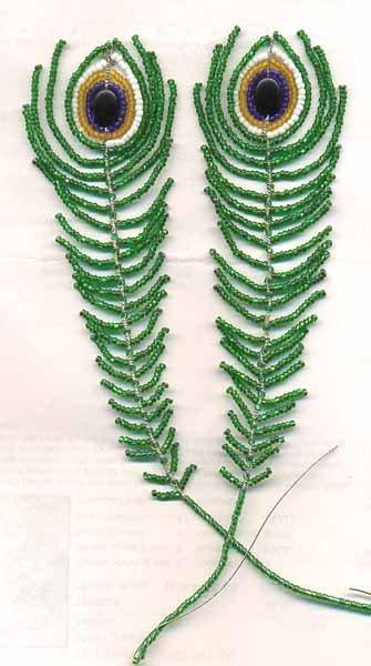 Павлин никогда лишним не бывает.  (Народная мудрость) Павлин схема и описание плетения. смотрите ссылку.