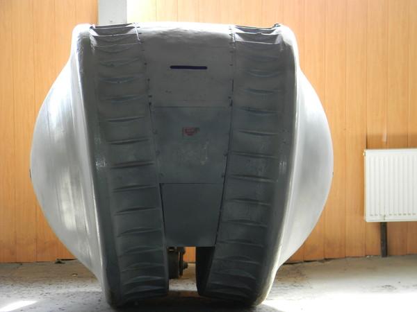 Машина наблюдателя «Kugelpanzer» (ВОЕННО-ИСТОРИЧЕСКИЙ МУЗЕЙ БРОНЕТАНКОВОГО ВООРУЖЕНИЯ И ТЕХНИКИ В КУБИНКЕ)