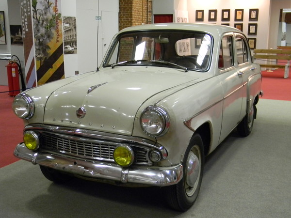 Автомобиль «Москвич-402» (Музей Москвы)